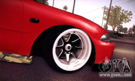 Proton Wira Hype for GTA San Andreas bottom view
