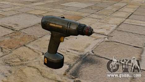 Screw Gun for GTA 4