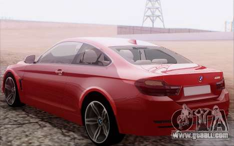 BMW 435i for GTA San Andreas right view