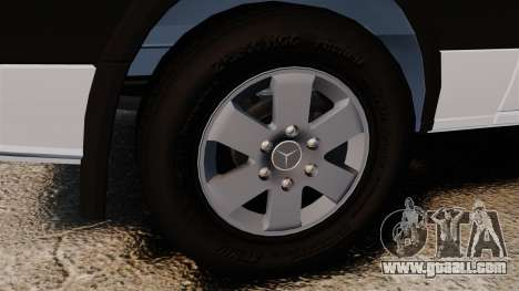 Mercedes-Benz Sprinter 2500 2011 v1.4 for GTA 4 inner view