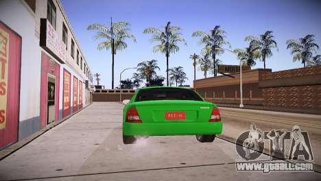 Mazda Protege for GTA San Andreas left view