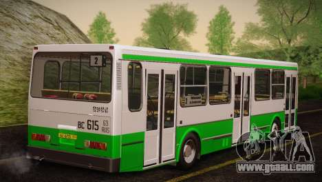 LIAZ 5256.00 Skins Pack 4 for GTA San Andreas side view