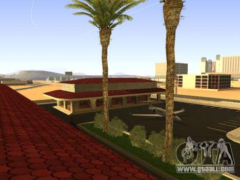 Railway station Las Venturas v1.0 for GTA San Andreas