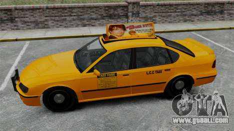 Real advertising on taxis and buses for GTA 4 eighth screenshot