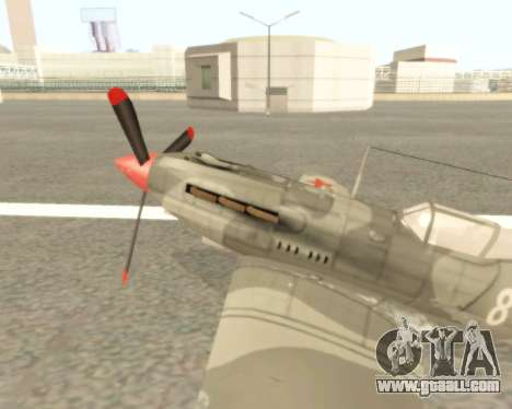 MIG-3 for GTA San Andreas left view