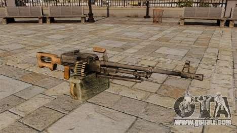 Kalashnikov Machine Gun for GTA 4
