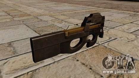 P90 submachine gun for GTA 4 second screenshot