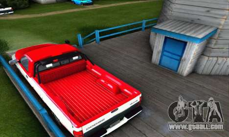 Dodge Ram 2500 for GTA San Andreas back left view