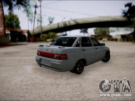 VAZ 2110 Restyling for GTA San Andreas right view