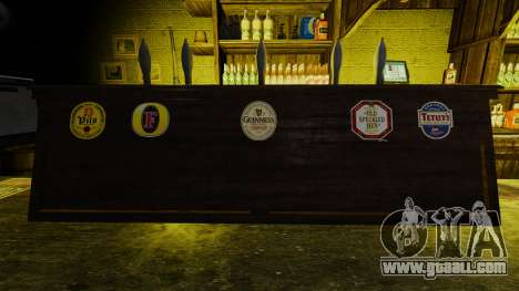 Real beer logos for GTA 4 second screenshot