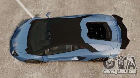 Lamborghini Aventador LP760-4 Oakley Edition v2 for GTA 4 right view
