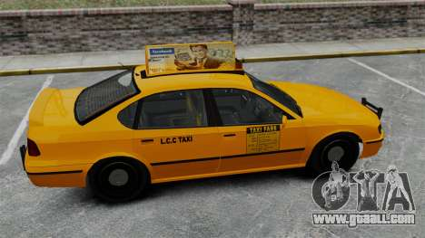 Real advertising on taxis and buses for GTA 4 seventh screenshot