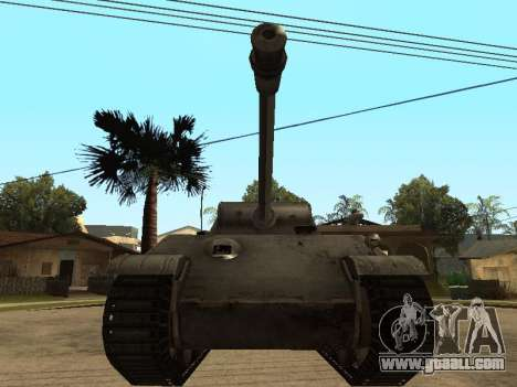 Pzkfpw V Panther for GTA San Andreas left view