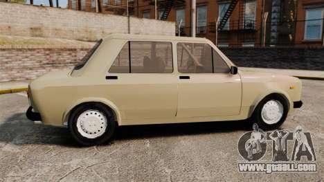 Zastava Yugo 128 for GTA 4 left view