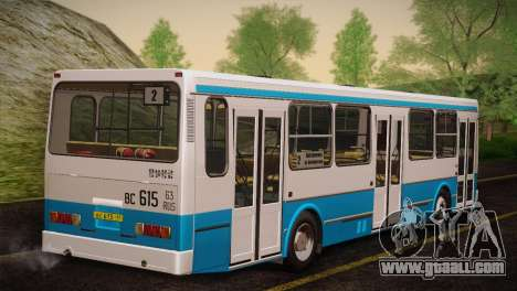 LIAZ 5256.00 Skins Pack 4 for GTA San Andreas back left view