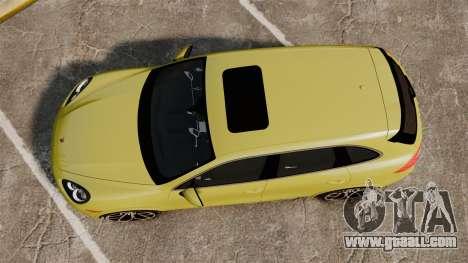 Porsche Cayenne 2012 SR for GTA 4 right view