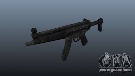 Submachine gun HK MP5 A3 for GTA 4