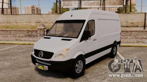 Mercedes-Benz Sprinter 2500 2011 v1.4 for GTA 4
