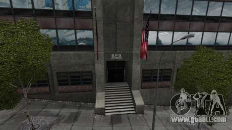Police station, Raccoon for GTA 4 fifth screenshot