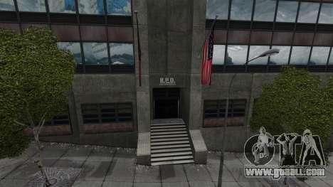 Police station, Raccoon for GTA 4 fifth screenshot
