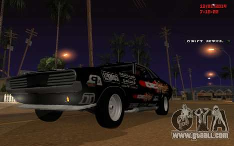 Challenger Missile for GTA San Andreas