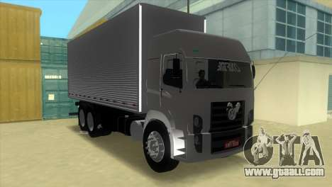 Volkswagen Constellation 24-250 for GTA Vice City back left view