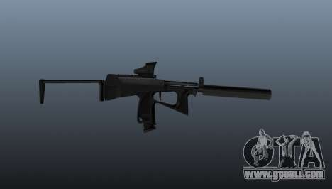 Submachine gun pp-2000 v1 for GTA 4 third screenshot
