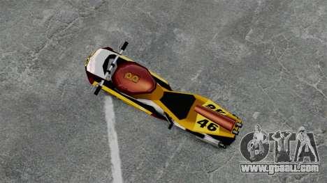 NRG500 for GTA 4 back left view