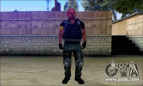 Sam from Far Cry 3 for GTA San Andreas