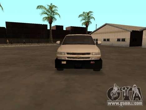 Chevrolet Suburban ATTF for GTA San Andreas inner view