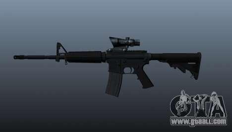 Automatic M4 carbine for GTA 4 third screenshot
