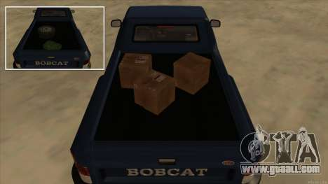 Bobcat HD from GTA 3 for GTA San Andreas back view