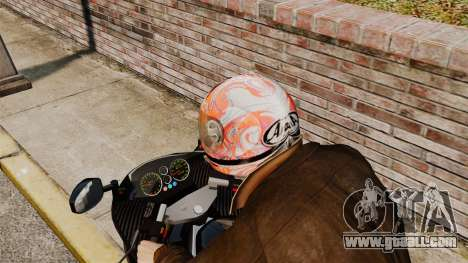 A collection of helmets Arai v1 for GTA 4 forth screenshot