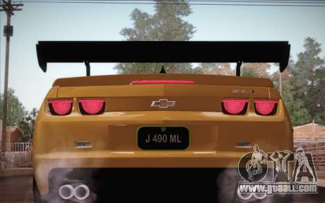 Chevrolet Camaro ZL1 for GTA San Andreas wheels