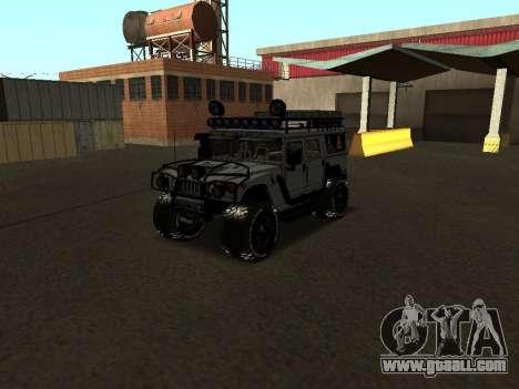 Hummer H1 Offroad for GTA San Andreas