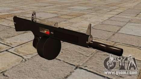 The AA-12 shotgun with a silencer for GTA 4