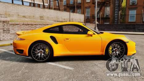 Porsche 911 Turbo 2014 [EPM] for GTA 4 left view