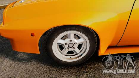 Opel Manta for GTA 4 back view