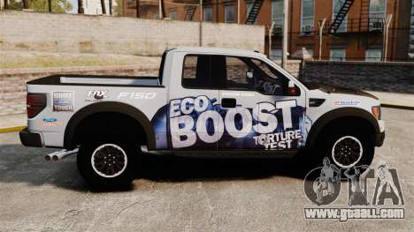 Ford F-150 SVT Raptor 2011 ECOBoost for GTA 4 left view