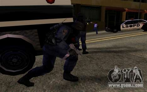 SWAT from Manhunt 2 for GTA San Andreas forth screenshot