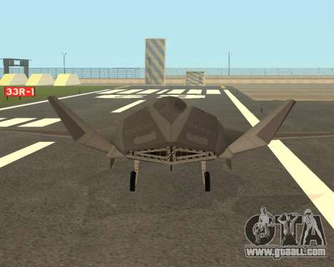 FA-37 Talon for GTA San Andreas right view