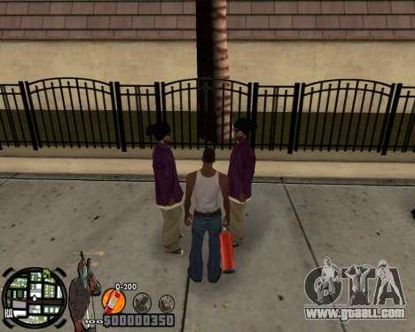 C-HUD Ghetto for GTA San Andreas