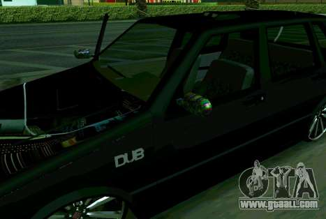 Fiat Uno 2010 Clase 4 for GTA San Andreas back left view