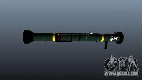 Anti-tank grenade launcher AT4 CS HP for GTA 4 third screenshot