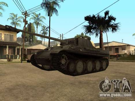 Pzkfpw V Panther for GTA San Andreas