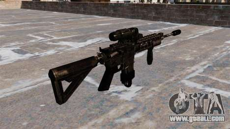 Automatic M4 carbine Hybrid Scope for GTA 4 second screenshot