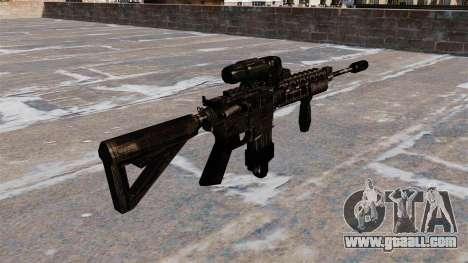Automatic M4 carbine Hybrid Scope for GTA 4 second screenshot