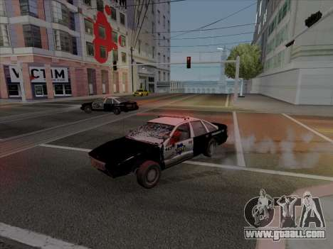 Chevrolet Caprice SFPD 1991 for GTA San Andreas left view