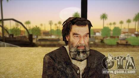 Saddam Hussein for GTA San Andreas third screenshot