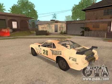 AMC Javelin AMX for GTA San Andreas left view